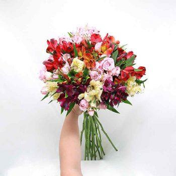 Flores Frescas No Seu Vaso