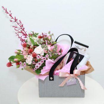 Box Bolsa Floral